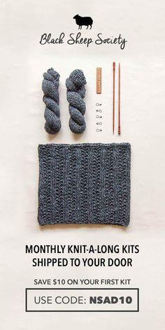Wheat Ear Cable Stitch :: Knitting Stitch :: New Stitch a Day
