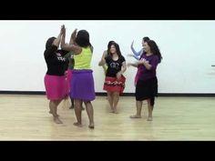 HOT HULA fitness Dance Workout - Week 2 - Part 1