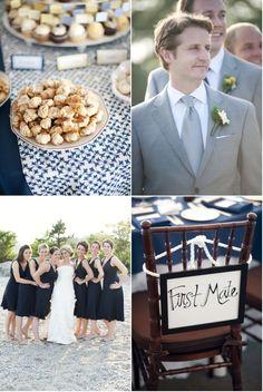 Rowayton Wedding by Justin & Mary Wedding Events, Wedding Ideas, One Fine Day, Event Themes, You Make Me Happy, Gray Weddings, Nautical Wedding, Style Me, Bridesmaid Dresses