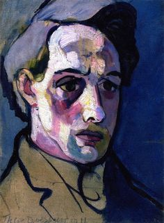 Theo van Doesburg - Self Portrait, 1911