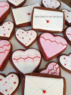 Valentine's day cookies by new-sweets-on-the-blog