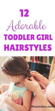 12 Adorable Toddler   12 Adorable Toddler Girl Hairstyles