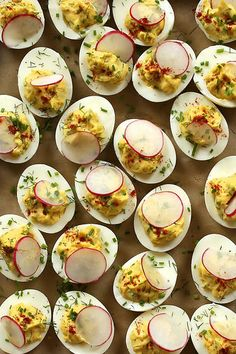 Extra-Special Deviled Eggs by joy the baker, via Flickr