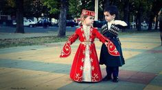 Circassian kids -- I'm dying, they're so cute.