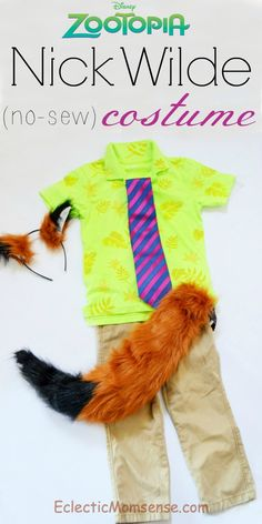 Eclectic Momsense | Nick Wilde Costume | http://eclecticmomsense.com