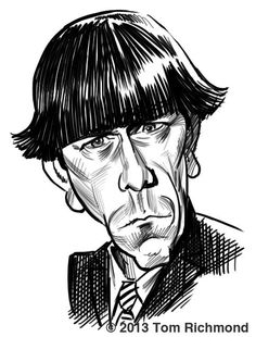 Moe Howard. Tom Richmond.