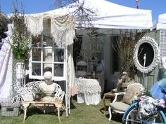 """Debbies's Booth..""""The Vintage Marketplace"""" March 2012"""