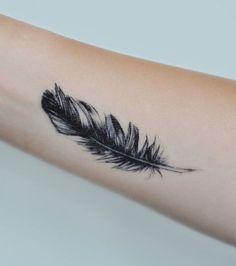 Resultado de imagem para tatuagens penas