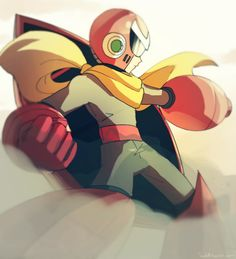 "sessk0: "" I have no drawings of Proto Man in my blog, so I decided to fix that! """