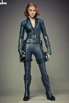 1 6 Female hot toys | Hot Toys Avengers Black Widow Final Product