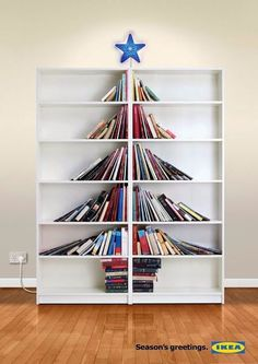 This would be great to do with collected Christmas story books.