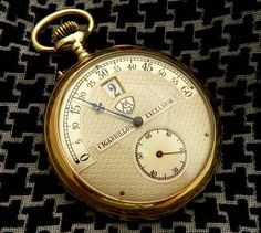 1920S Unique Modernista Jump Hour Pocket Watch Completely Restored | eBay