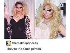 The same person doing Pearl face