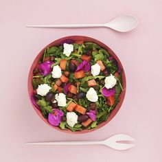 Opskrift: Salat med vandmelon