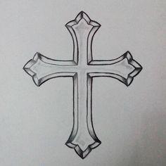 Trying new stuff #art #artwork #drawing #ink #tattoo #tattoos #tattoodrawing #tattoodesign #illustration #tattooapprentice #tattooart #tattoolife #tattooist #tattooflash #instatattoo #tattooartist #illustration #cross #crosstattoo