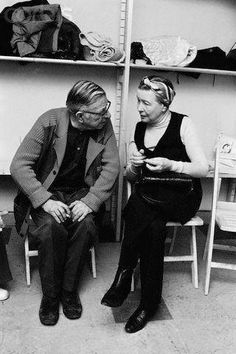 Jean Paul Sartre, Tandem, Le Castor, Feminist Theory, Writers And Poets, Life Inspiration, Paris, Famous People, Movies