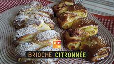 Brioche citronnée - بريوش بالليمون بريحة تاخذ العقل و تعبق الدار ! تفضلو... French Toast, Breakfast, Food, Table, Lemon, Recipe, Meal, Eten, Tables
