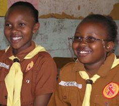 Brownies from Kenya #Thinking Day