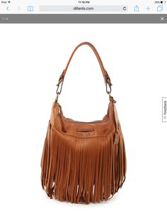 cc146a524398c Frye Fringe Hobo Handbag