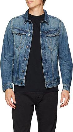 great jeans jacket  Bekleidung, Herren, Jacken, Mäntel & Westen, Jacken G Star Raw, Star Wars, Deconstruction, Slim, Stars, Fashion, Summer, Clothing, Jackets