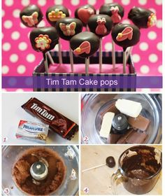 Tim Tam cake pops recipe - Biscuits and cookies
