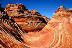 """La """"vague"""" des Coyote Buttes en Arizona, Etats-Unis"""