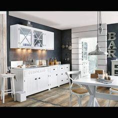 Meubles de cuisine ind pendant et ilot maison du monde - Element de cuisine independant ...