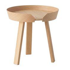 Around table bord, ek, litet från Muuto – Köp online på Rum21.se 2895:-