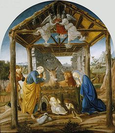 Title: The Nativity, c.1475  Artist: Sandro Botticelli  Location: Columbia Museum of Art South Carolina USA