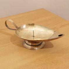 Vintage brass candle stick / candle holder  Aladdin by UKAmobile