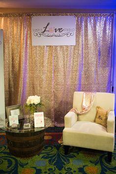 d599c6ca73f5 Simply Love Studio Bridal Bliss Classic Winter Bridal Show Booth at Hilton  Lexington   Downtown.