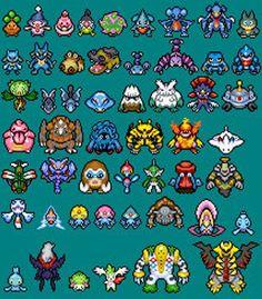4th Generation 438-479 Pokemon Perlers Mystery Dungeon | Etsy Pokemon Perler Beads, Hama Beads Minecraft, Minecraft Pixel Art, Minecraft Crafts, Minecraft Skins, Minecraft Buildings, Pixel Beads, Fuse Beads, Pearler Beads