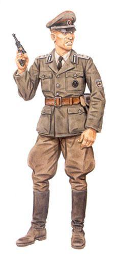 """Waffen SS - Hauptsturmführer, della 29. SS.Grenadier Division """"RONA"""", Varsavia, Agosto 1944."""