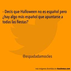 Halloween no es español pero…