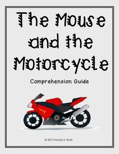 Ramona quimby age 8 activities ela pinterest ramona quimby the mouse and the motorcycle comprehension guide fandeluxe Gallery