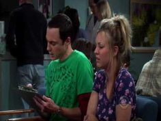 One more Big Bang Theory clip...Sheldon is hilarious when he is attempting to console Penny.