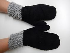 Fleece, Fingerless Gloves, Arm Warmers, Loom, Textiles, Knitting, Crafts, Design, Manualidades