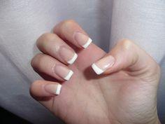 porcelain nails// uñas porcelana francesa