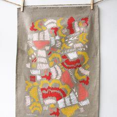 SALE Scribble Tea Towel