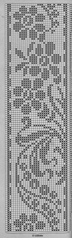 This Pin was discovered by Све Knitting Machine Patterns, Embroidery Patterns Free, Knitting Charts, Loom Patterns, Crochet Patterns, Filet Crochet Charts, Crochet Borders, Crochet Diagram, Crochet Stitches