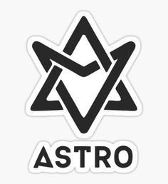 Astro Kpop stickers featuring millions of original designs created by independent artists. Logo Kpop, Kpop Logos, Pop Stickers, Printable Stickers, Logo Sticker, Sticker Design, Astro Summer Vibes, Astro Wallpaper, Lee Dong Min