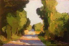 "Sunlight oil 4 x 6"" © Mary Bentz Gilkerson"