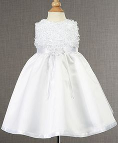 Fashion Choice Of Lauren Madison Baby Dress Baby Girls Soutache Christening Dress . Outfit For Christening, Baby Christening Gowns, Toddler Flower Girl Dresses, Little Girl Dresses, Girls Dresses, Baby Dresses, Flower Girls, Newborn Girl Outfits, Toddler Girl Outfits