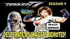 DESPERATE ASUKA GETS DEMOTED! (Tekken 7 Season 4)- Leroy Smith Matches, ... Tekken 7, Season 4, Gaming, Youtube, Videogames, Game, Youtubers, Youtube Movies
