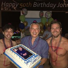 """58.9k Likes, 455 Comments - John Barrowman MBE (@johnscotbarrowman) on Instagram: """"One of my favorite pictures from my Birthday party last night. JB"""""""