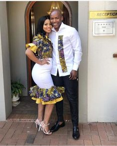 Matching Couples Outfits 2019 – Digital Living ✅ By Diyanu - African Plus Size Clothing at D'IYANU Traditional African Clothing, African Clothing For Men, African Shirts, African Dresses For Women, African Print Dresses, African Wedding Attire, African Attire, African Wear, Matching Couple Outfits