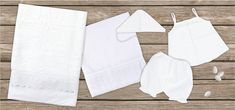 oil cloth set 6 pieces, ladopano,ladopana, λαδόπανα, set underwear baptism vaptism vaptisi Baby Shower Gifts, Baby Gifts, Baptism Favors, Unique Christmas Gifts, Christening Gifts, New Year Gifts, Cotton Towels, Pin Image