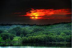 Alien Sunset