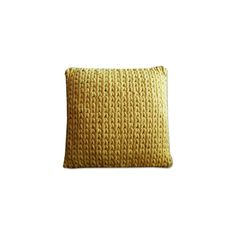 Pillow By Boo Wool Yellow