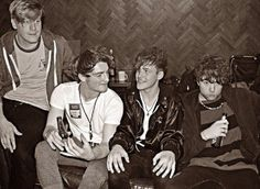 Viola Beach, a Britich indie band, killed in a freak accident in Sweden as their car plummeted off a bridge at 82 feet. Were they drunk? Beach Posters, Star Wars, European Tour, Car Crash, Beautiful Boys, Sweden, Cool Pictures, People, Bands